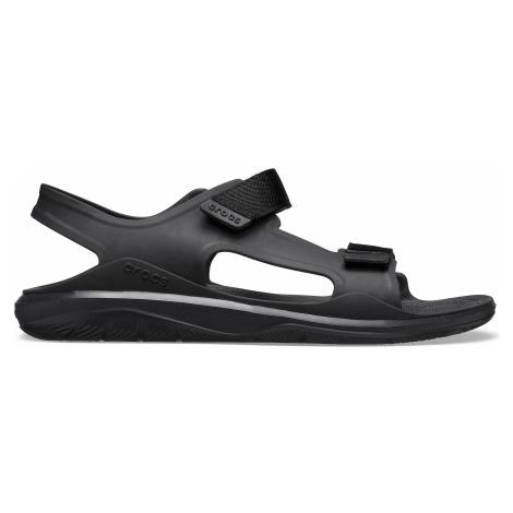 Crocs Swiftwater Molded Expedition Sandal Black/Black M7