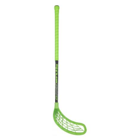 Kensis 4KIDS 35 zelená - Florbalová hokejka