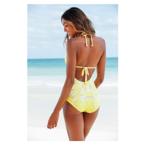 SUNSEEKER Plavky 'Ditsy' žlutá / mix barev