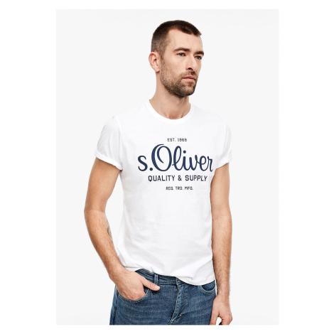s.Oliver pánské tričko s logem 03.899.32.5264/0100