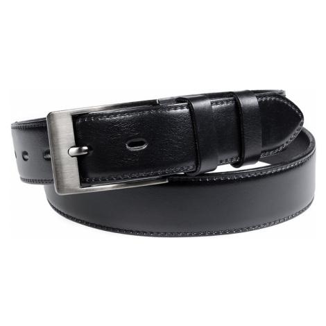 Pánský kožený opasek Penny Belts Vincent černý