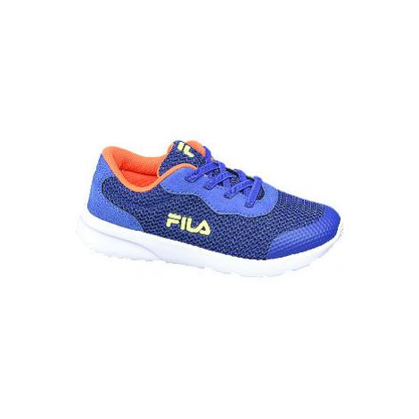 Modré slip-on tenisky Fila s elastickými tkaničkami