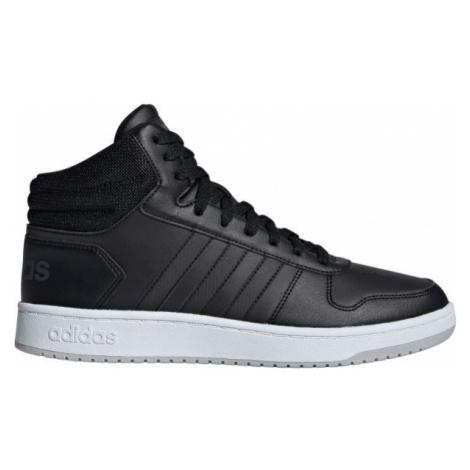 adidas HOOPS 2.0 MID bílá - Pánská volnočasová obuv
