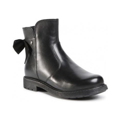 Kotníkové boty Lasocki Young CI12-3060-02 Přírodní kůže (useň) - Lícová