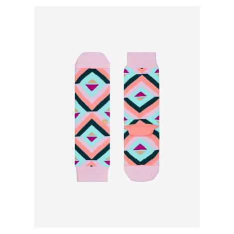 Bonny Tomboy Ponožky Stance Růžová