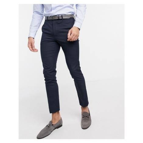 New Look skinny smart trouser in navy
