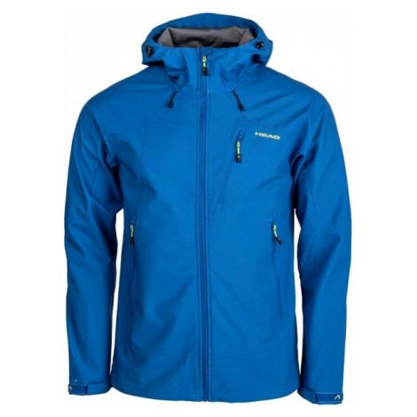 Head SAXON modrá - Pánská softshellová bunda