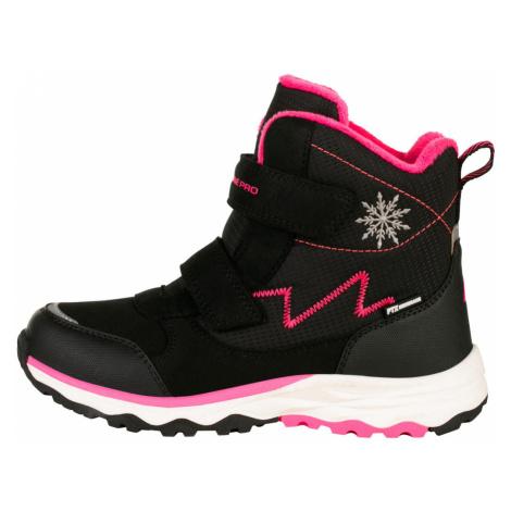 ALPINE PRO MOKOSHO Dětská zimní obuv KBTS261990 černá