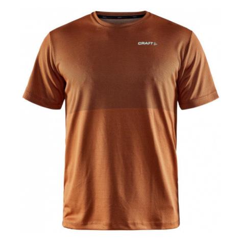 Pánské tričko CRAFT CORE Sence Structured SS oranžová