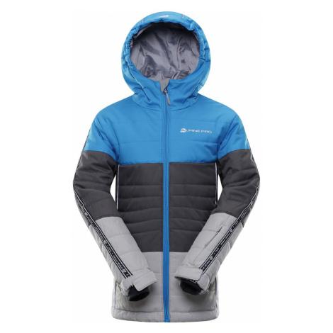 ALPINE PRO WIREMO 3 Dětská lyžařská bunda KJCP155674 Blue aster