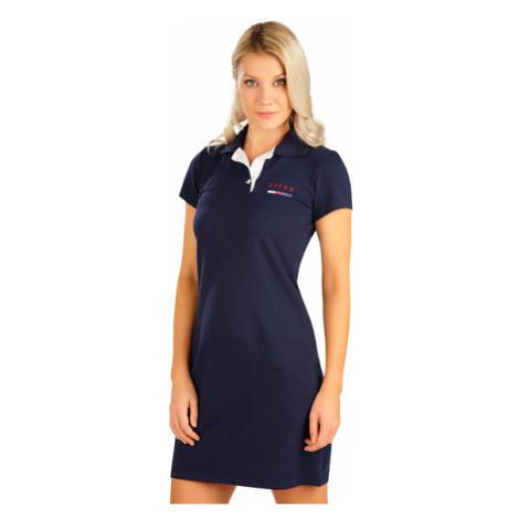Dámské šaty s krátkým rukávem Litex 5B302 | tmavě modrá