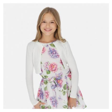 Dívčí svetr Mayoral 332   bílá