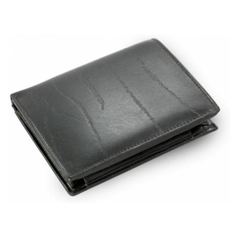 Černá pánská kožená peněženka Everett Arwel
