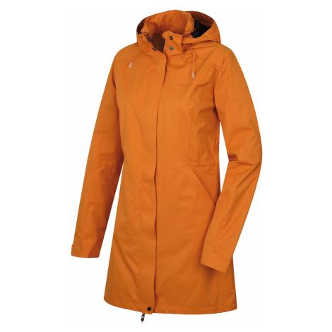 Husky Nut L, tl. oranžová Dámský hardshellový kabát