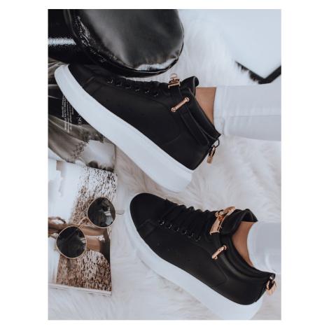 NAUSA women's sneakers black ZY0035 DStreet