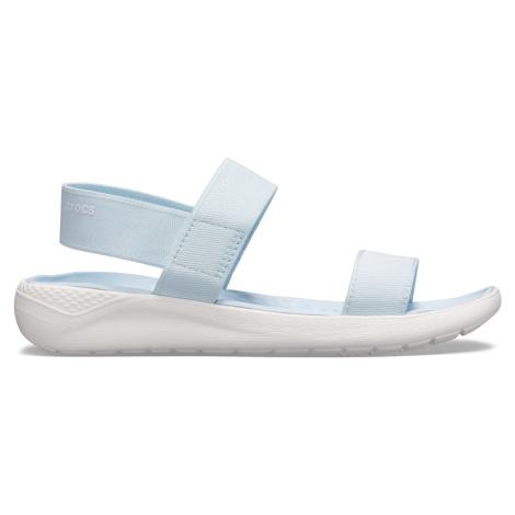 Crocs LiteRide Sandal W Mineral Blue/White W9