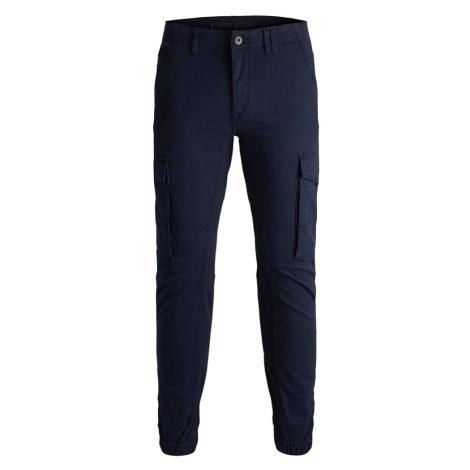 Jack & Jones Junior Kalhoty 'Paul' námořnická modř