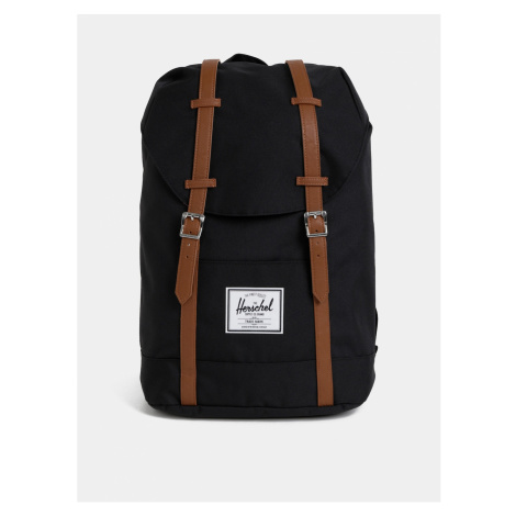 Černý batoh Herschel Supply Retreat 19,5 l