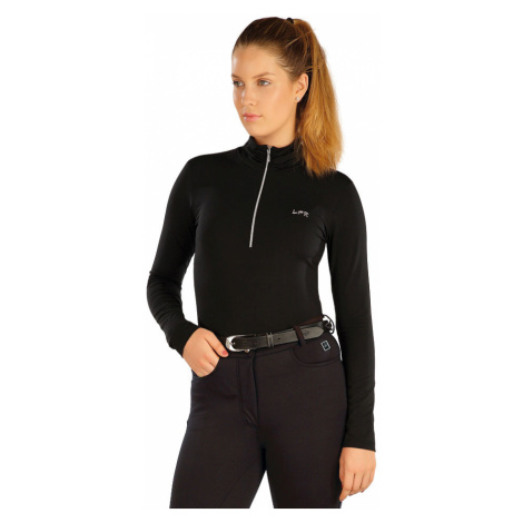LITEX Triko dámské s dlouhým rukávem. J1230901 černá