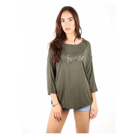 Pepe Jeans dámské zelené tričko