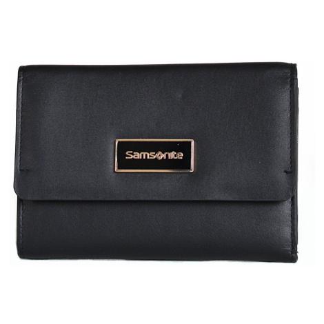 Samsonite Dámská peněženka Karissa Lth SLG kožená na šířku černá, 15 x 2 x 11 (88283/1041)