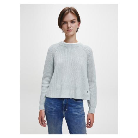 Calvin Klein dámský šedý svetr