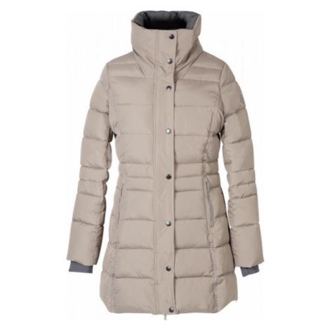 Kabát zimní jezdecký Capuc PFIFF, dámský, béžový