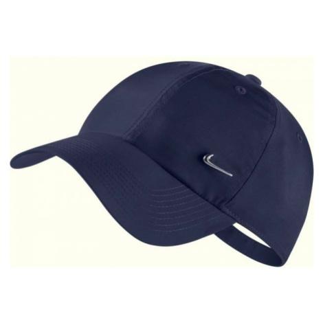 Nike HERITAGE 86 CAP METAL SWOOSH tmavě šedá - Kšiltovka