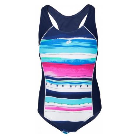 Lotto LANIE modrá - Dívčí jednodílné plavky