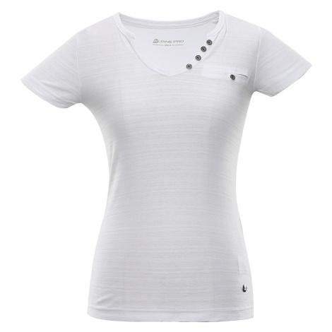 ALPINE PRO ROPERA 4 Dámské triko LTSR587000 bílá