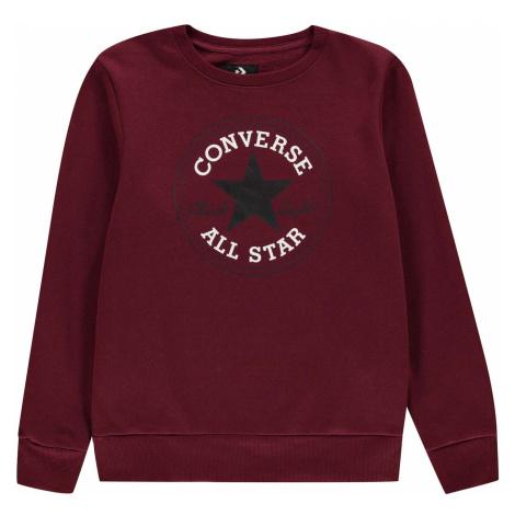Converse Fleece Crew Sweatshirt Junior Boys