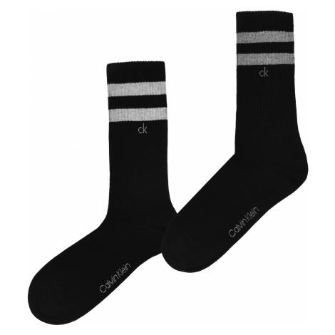 Calvin Klein 2 Pack Striped Socks