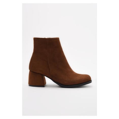 Trendyol Taba Women's Boots & Booties