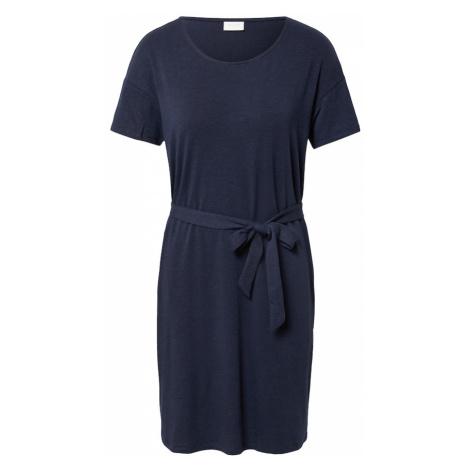 VILA Šaty námořnická modř