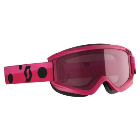 Scott AGENT JR AMPLIFIER růžová - Dětské lyžařské brýle