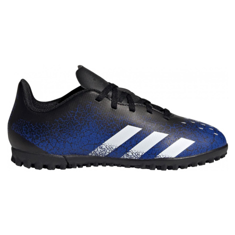 Dětské kopačky adidas PREDATOR FREAK.4 TF Černá / Modrá