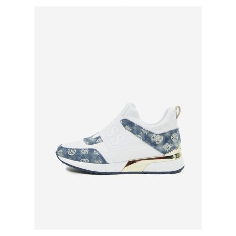 Modro-bílé dámské boty Guess Maygin