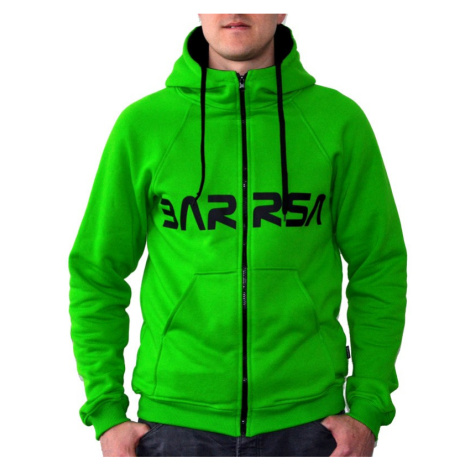 Pánská mikina s kapucí Barrsa Classic Zip Green