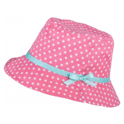 Lewro ABRIL růžová - Dívčí plátěný klobouček