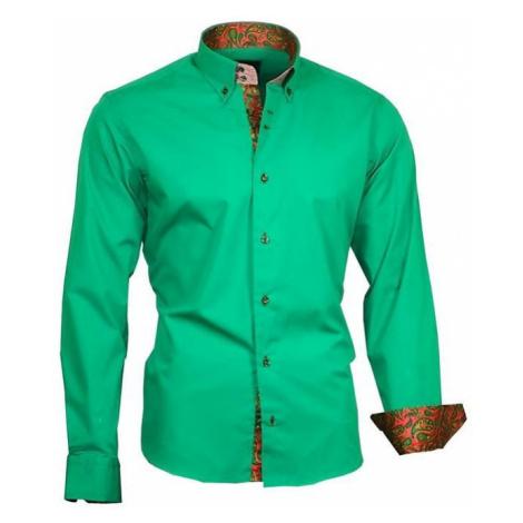 BINDER DE LUXE košile pánská 86003 s dlouhým rukávem paisley