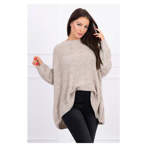 Sweater Oversize beige Kesi