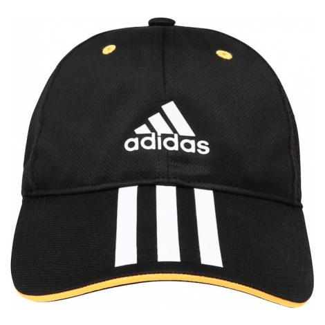 ADIDAS PERFORMANCE Sportovní čepice černá / žlutá / bílá