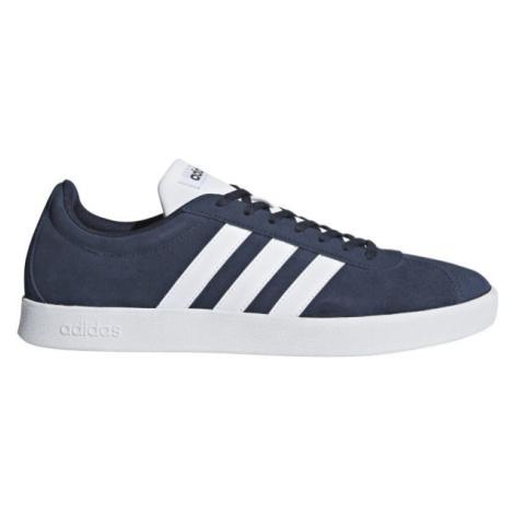 adidas VL COURT 2.0 tmavě modrá - Pánská volnočasová obuv