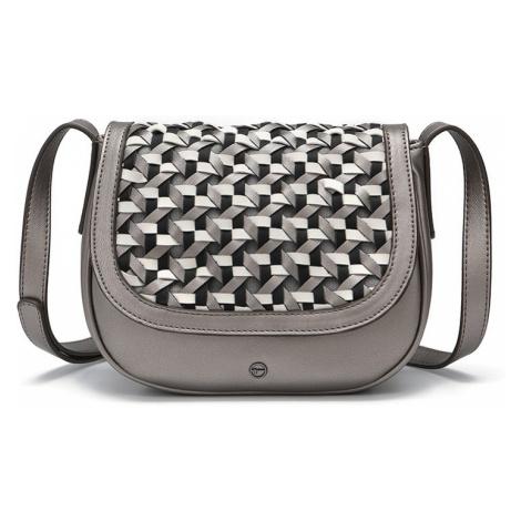 1654a166c1 ... světle šedá · Dámská crossbody kabelka Tamaris Myrta - stříbrná