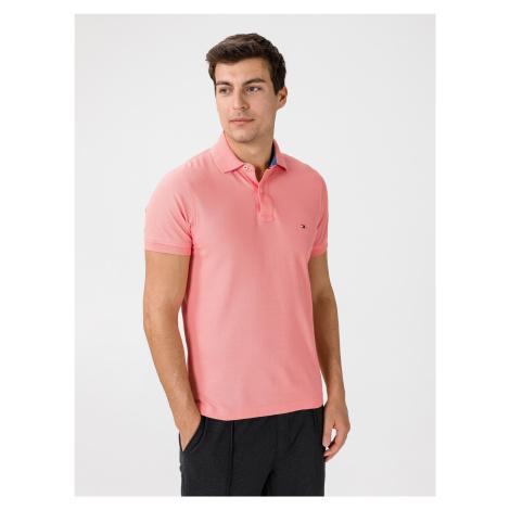 Polo triko Tommy Hilfiger Růžová