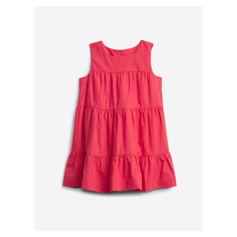 Šaty dětské GAP Růžová