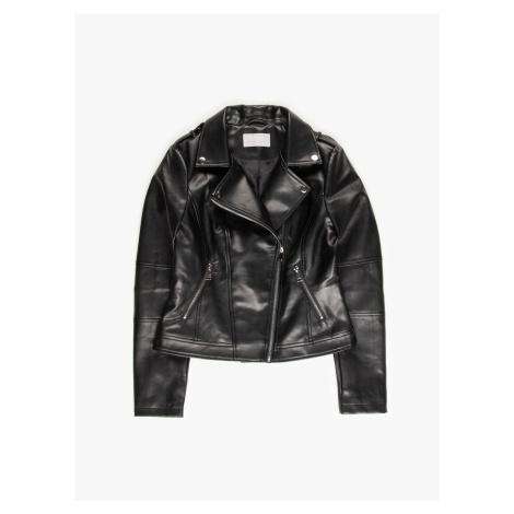 GATE Motorkářská bunda z imitace kůže