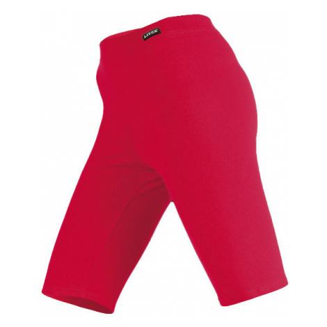 LITEX Leggings nad kolena 99401306 červená
