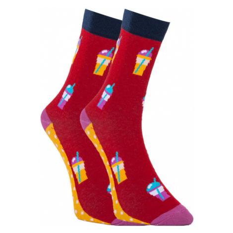 Veselé ponožky Dots Socks drink (DTS-SX-418-R) L