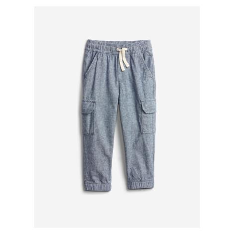 Cargo Kalhoty dětské GAP Modrá